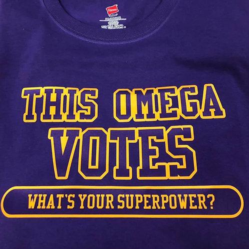 Omega Votes Shirt
