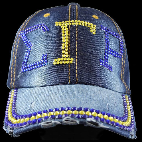 SGRho Rhinestone Hat