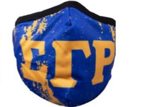 SGRho Splatter Face Mask