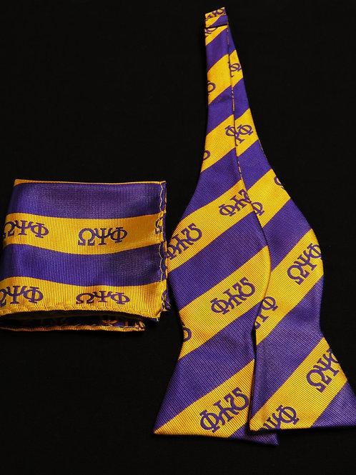 Omega Bow Tie & Handkerchief