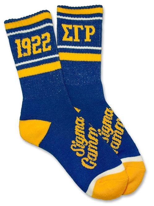 SGRho Crew Socks