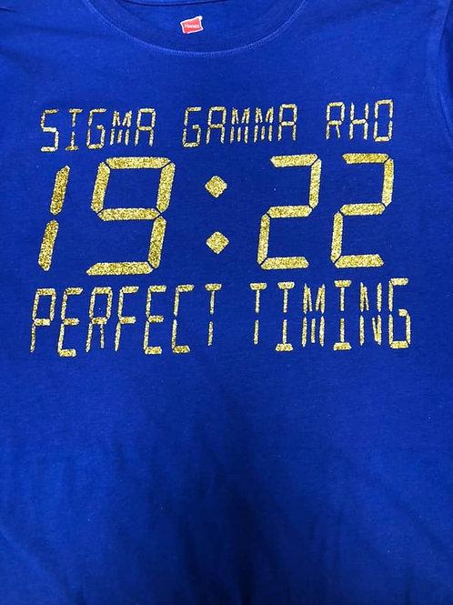 SGRho Perfect Timing Shirt