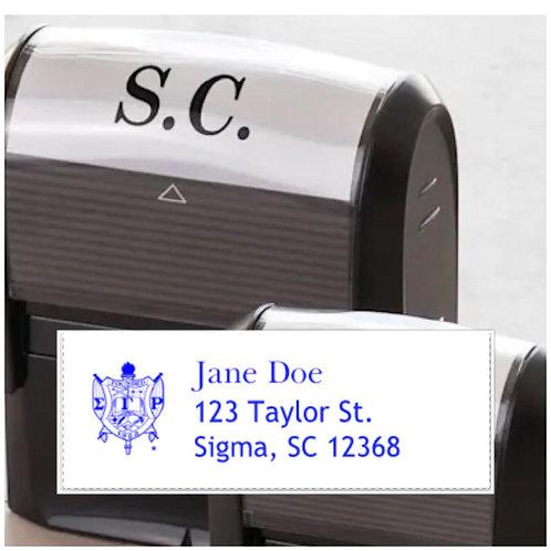 SGRho Address Stamp