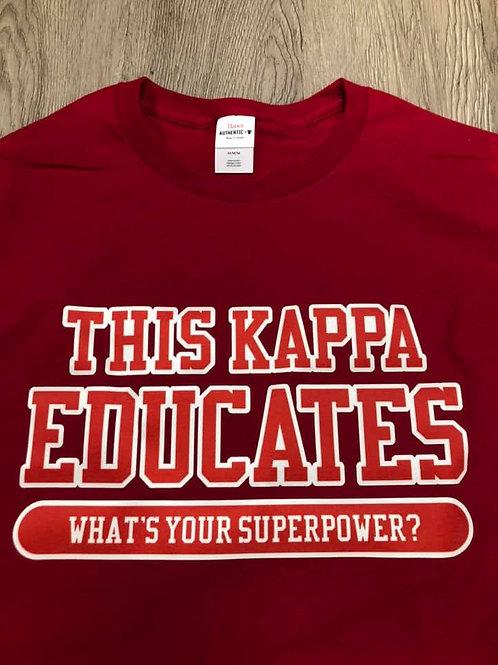 Kappa Educator Shirt