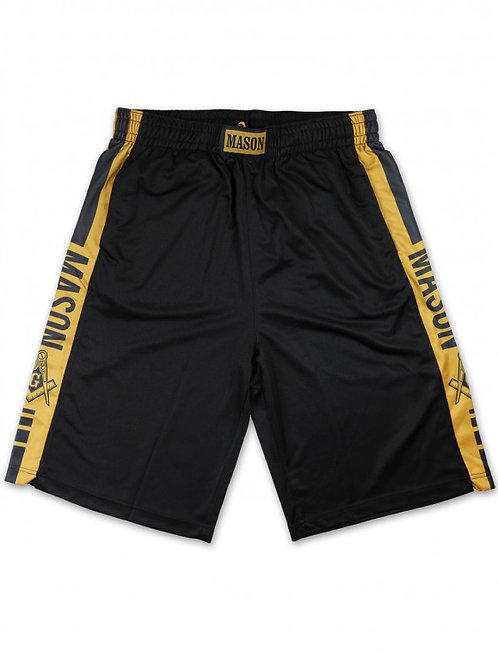 Masonic Basketball Short
