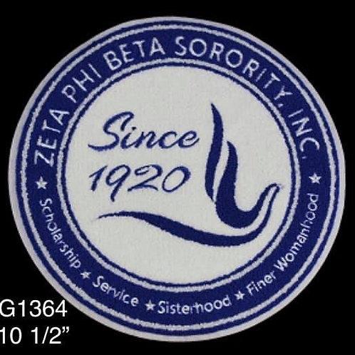 Zeta Chenille Iron On Patch