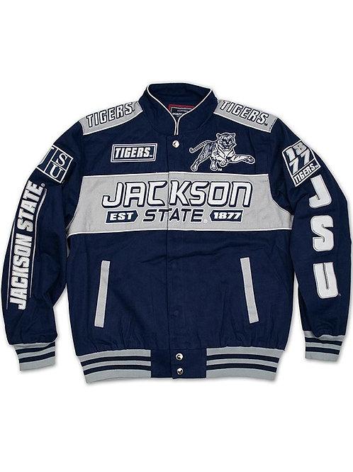 Jackson State Men's Racing Jacket