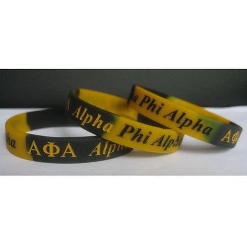 Alpha Silicone Bracelet