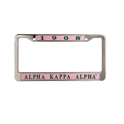 AKA Metal License Frame
