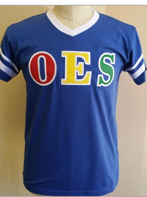 OES V-Neck Jersey Shirt
