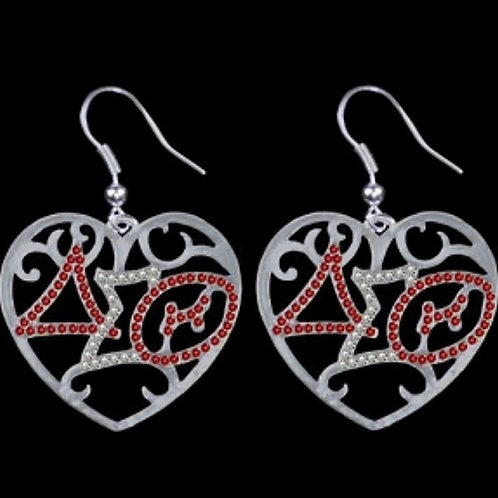 DST Filigree Heart Jewelry