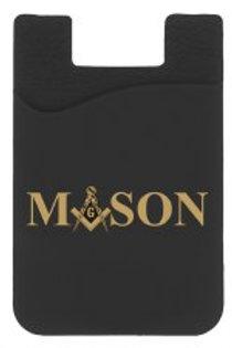 Masonic Silicone Card Holder