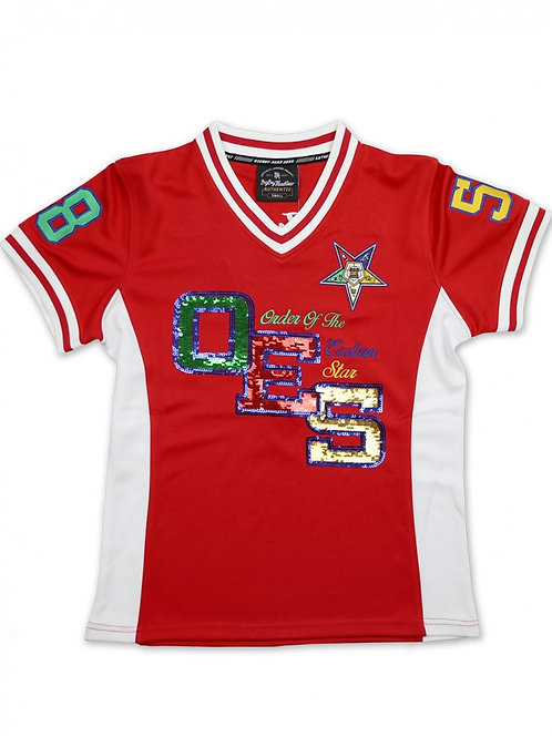 OES Sequin Football Jersey