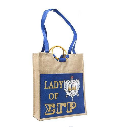 Large Pocket Jute Bag