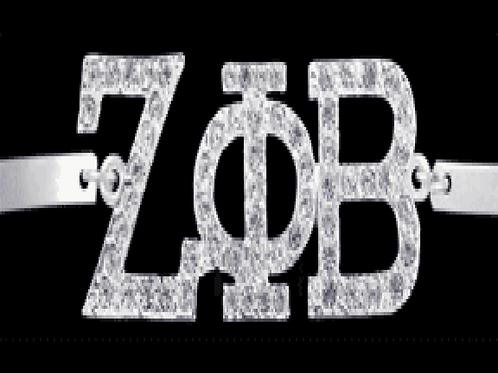 Zeta Rhinestone Bracelet