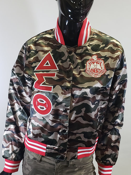 DST Camo Satin Jacket