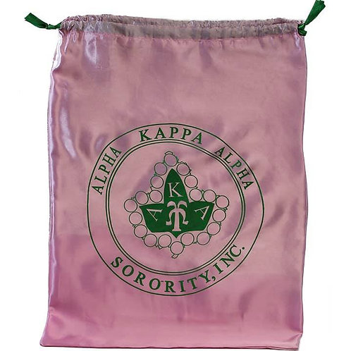 AKA Satin Drawstring Shoe Bag