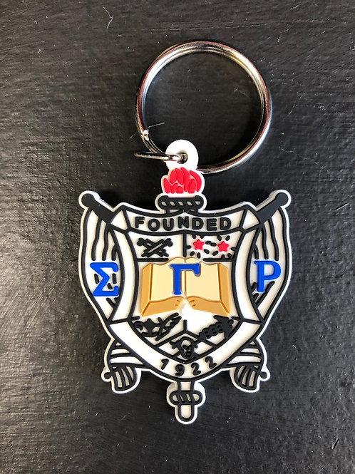 SGRho PVC Keychain