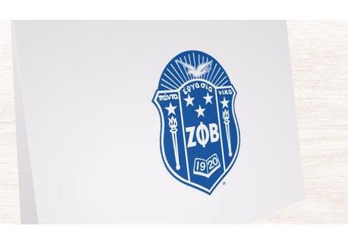 Zeta Note Cards