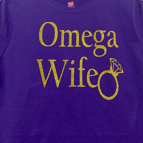 Omega Wife Women's Fitted Shirt