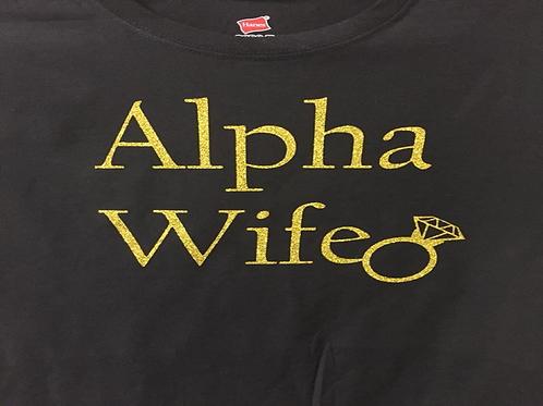 Alpha Wife Women's Fitted Shirt