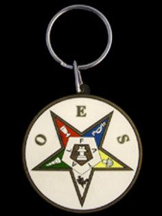 OES PVC Key Chain
