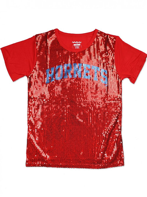 Delaware State Sequin Shirt