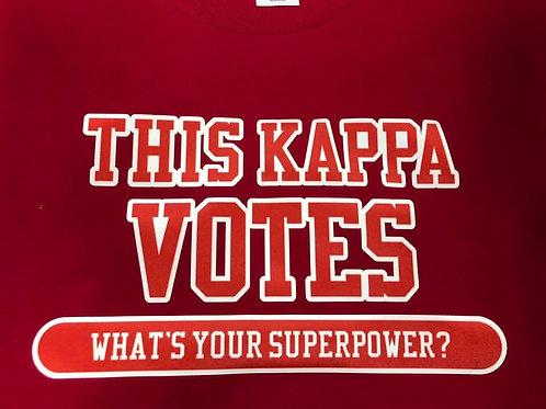 Kappa Votes Shirt