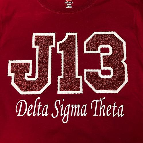 J13 Glitter Shirt