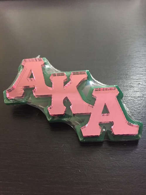 AKA  Mirrored Lapel Pin