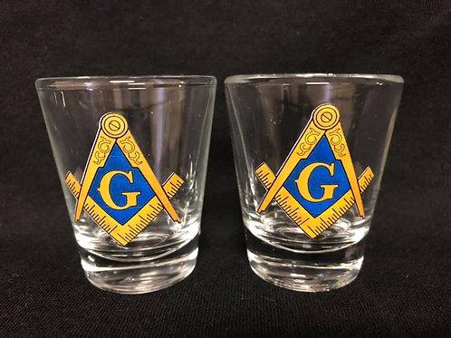 Masonic Shot Glasses