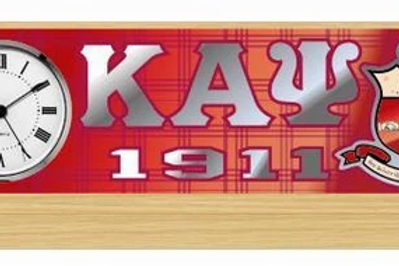 Kappa Desk Clock