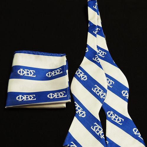 Sigma Bow Tie & Handkerchief Set