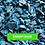 Thumbnail: ECO Blue Decorative Rubber Garden Mulch / Play Bark Chip - 500 KG / 25 Sq M