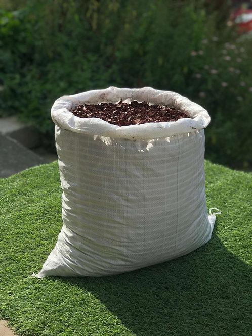 ECO Brown Play Bark Chip Decorative Rubber Garden Mulch - 20KG
