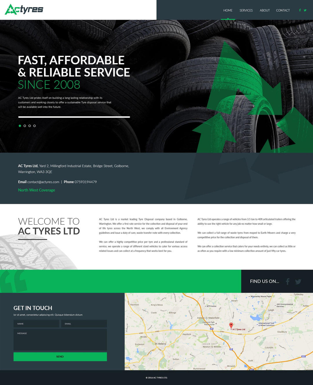 AC Tyres Ltd- The tyre disposal specialists