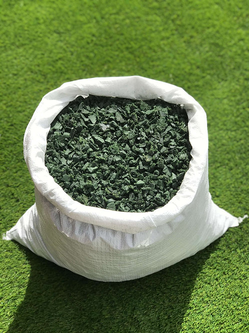 ECO Green Play Bark Chip Decorative Rubber Garden Mulch  - 20KG