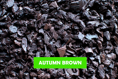 Brown - 500 KG 25 Sq m ECO Rubber Chippings