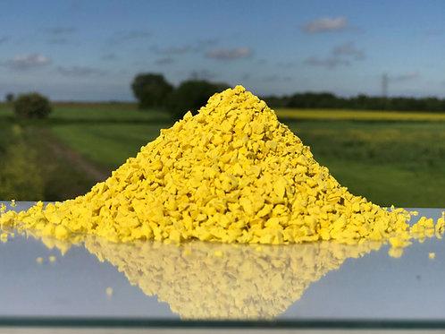 Yellow EPDM Granules 1-4mm