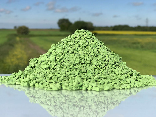 Green EPDM Granules 1-4mm