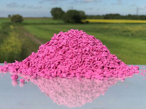 Pink EPDM Granules 1-4mm