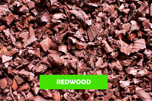 RedWood- 500 KG 25 Sqm ECO Rubber Chippings