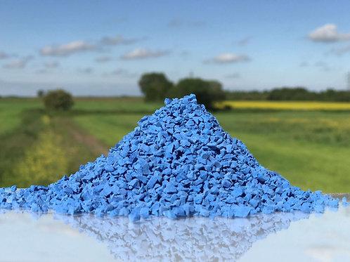 Blue EPDM Granules 1-4mm