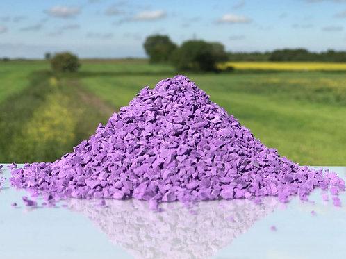 Purple EPDM Granules 1-4mm
