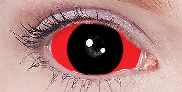 Anti Ghoul inverted sclera contact lenses