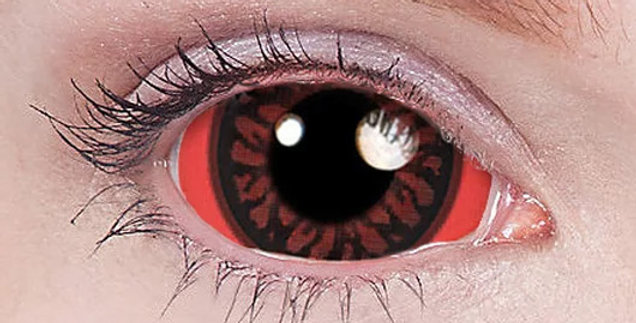 Carnage Sclera Contacts USA Product