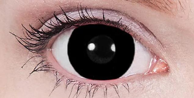 Black Titan mini sclera contact lenses USA