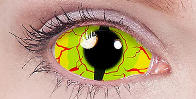Yellow Dragon Sclera Contacts