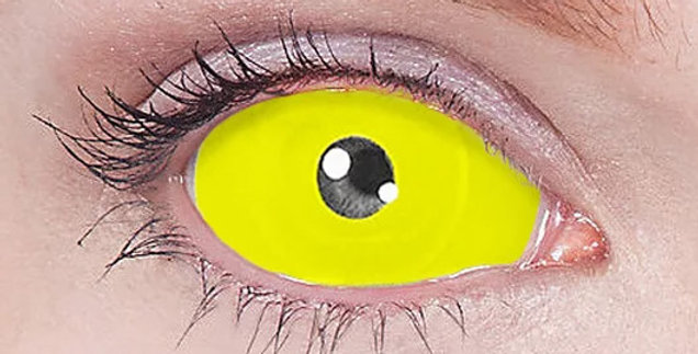 Yellow Mystique / Avatar Sclera Contacts