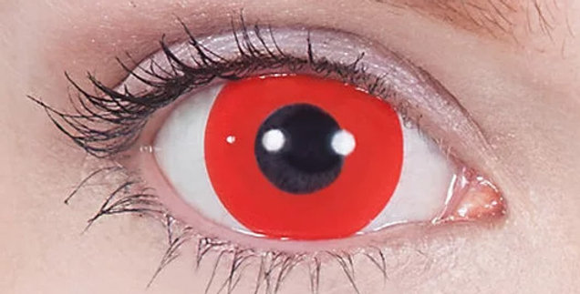 Daredevil Mini-Sclera Contacts